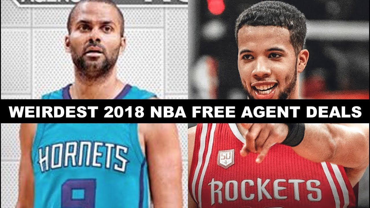 45c6356c56d 5 Weirdest Signings Of NBA Free Agency 2018 - YouTube