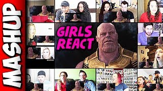 Avengers: Infinity War Trailer Reaction Mashup (Girls Version)