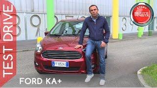 Test Drive Nuova Ford Ka+