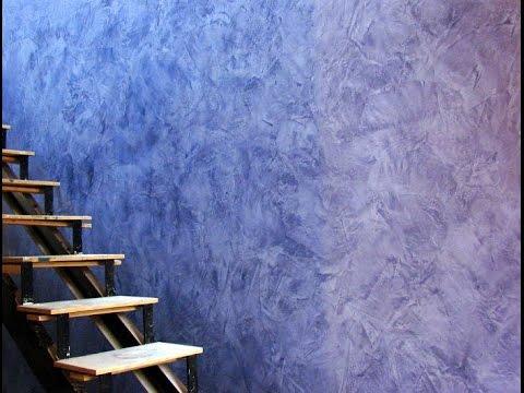 Декоративная штукатурка стен шпаклевкой своими руками 347