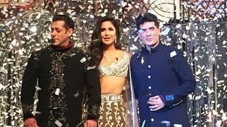 Salman Khan And Katrina Kaif  SHOWSTOPPER For Manish Malhotra Fashion Show 2018