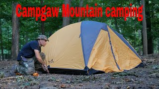 Hike and camp aт Campgaw Mountain in Mahwah New Jersey