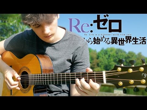 Re:Zero ED2 'Stay Alive' [Fingerstyle Guitar Cover by Eddie van der Meer]