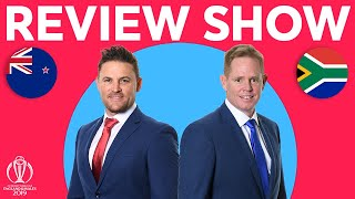 The Review - New Zealand vs South Africa   Williamson's 106 Secures Win  ICC Cricket World Cup 2019