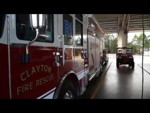 Clayton FD Rescue 1 In-service Walk-around