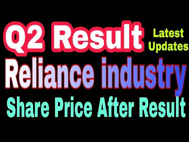 Reliance Industry Share Latest News Reliance Industries Quarterly Result Ril Share Price Target Youtube