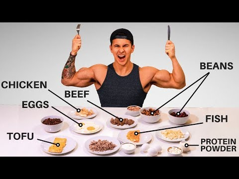 What Are The BEST Protein Sources to Build Muscle? (Eat These!)