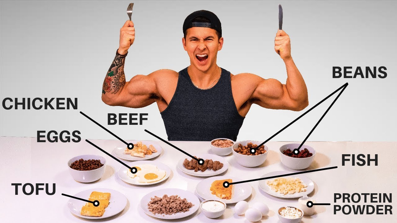 What Are The BEST Protein Sources to Build Muscle? (Eat These!) - YouTube