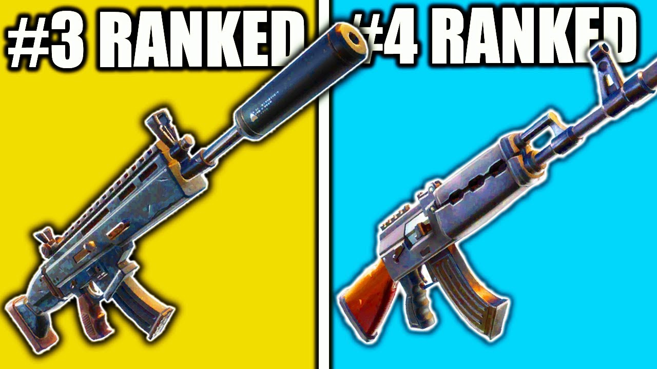 ranking best guns in fortnite season 8 top 10 best guns fortnite best weapons season 8 - fortnite guns list season 2