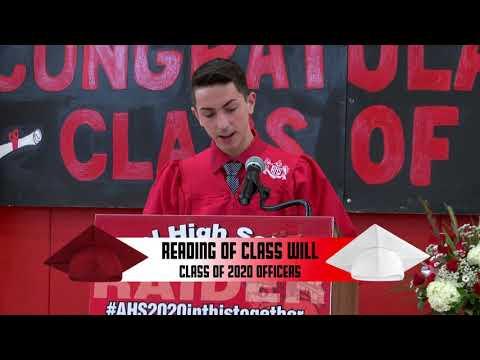Athol High School Class Day 2020 Video
