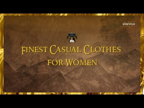 BLACK DESERT ONLINE Finest Casual Clothes for Women CRAFTABLE COSTUME