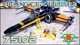 Lego Star Wars 75102 Poe's X-Wing Fighter Review