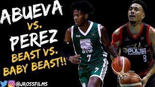 Calvin Abueva vs. CJ Perez BEASTS Duel 1.23.2019 | Calvin with 16, CJ with 10!