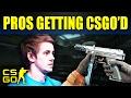 Top 10 Moments Pro's Got CSGO'd