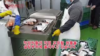 포장,포장기,자동포장기,전자동복식진공포장기,진공포장기