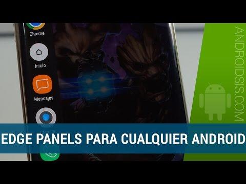 Disfruta de los Edge Panels en cualquier Android con esta aplicación
