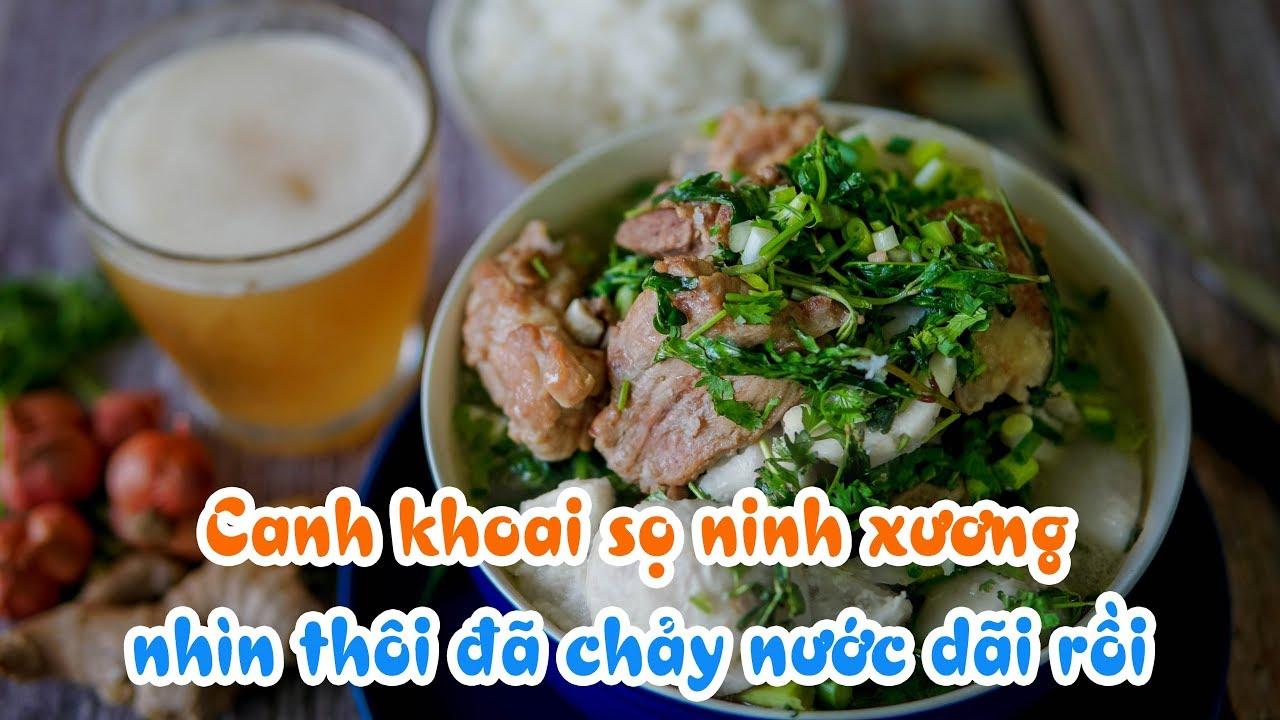 Canh Khoai Sọ Ninh Xương Ăn Mãi Không Chán - Viet Nam Food - NếmTV