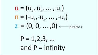Vector Spaces Math Part1