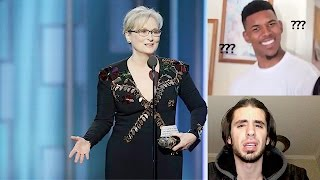 Meryl Streep Speech Aimed At Donald Trump (Golden Globes 2017)