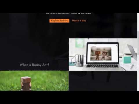 Reach Remote Places with BrainyAnt (Telerobotics)