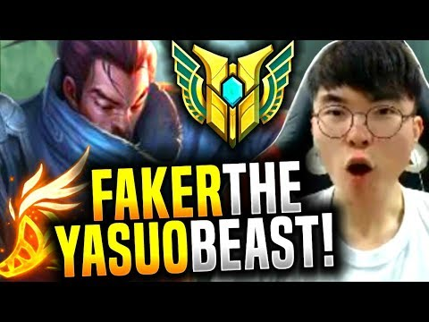 FAKER YASUO is BACK and it's INSANE! - SKT T1 Faker Picks Ya