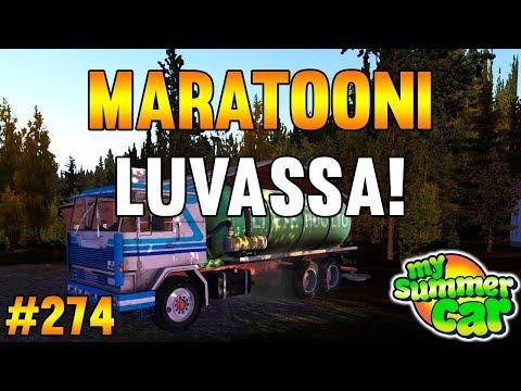 My Summer Car #274 | Maratooni Luvassa!