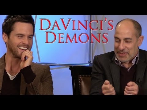 DP30: Da Vincis Demons, runner David S. Goyer , star Tom Riley