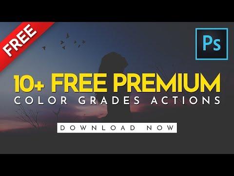10+ FREE Premium Color Grades Photoshop Actions (DOWNLOAD NOW)