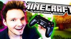 DER ERSTE SCHRITT IST GETAN!!! | Minecraft (PS4 Edition)