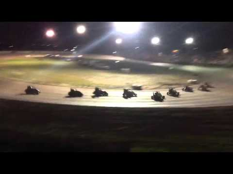 Superbowl Speedway 3-19-16 Non Wing A Main