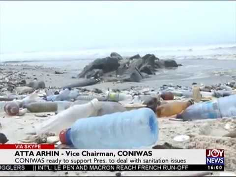 Accra Sanitation Goals - The Pulse on Joy News (24-4-17)