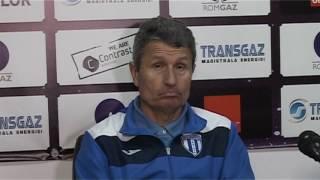 Gheorghe Multescu dupa Gaz Metan CS U Craiova 2-2 | novatv.ro