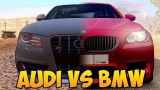 BMW M5 против AUDI S4, КАКАЯ МАШИНА ЛУЧШЕ? - GTA CRMP #64