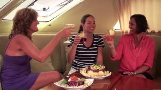 Catamaran Flying Ginny   Yacht Charter Video