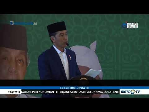 Jokowi Ajak Ulama Serukan Kedamaian Di Tahun Politik