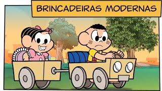 Brincadeiras Modernas | Turma da Mônica thumbnail
