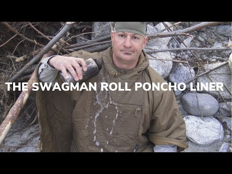 The Swagman Roll And Poncho