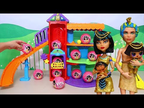 LOL Families Adopt New Pets ! Toys and Dolls Fun Pretend Play for Kids | SWTAD