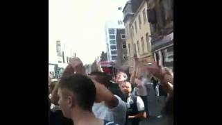 newcastle fans outside sam jacks after 0-1 win ove
