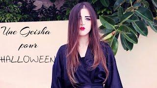 [Tuto Maquillage#5 ] : Une Geisha  pour HALLOWEEN / Artistic Makeup