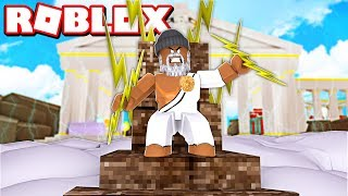 BECOMING THE #1 GOD IN ROBLOX!! *SUPER POWERFUL*