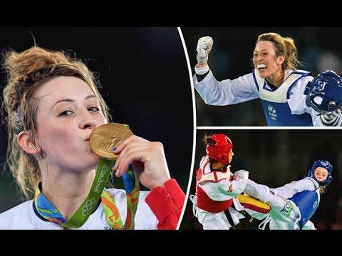 Jade Jones Taekwondo Highlights II The 2x Olympic champion II HD Music video