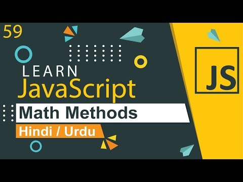 JavaScript Math Methods Tutorial in Hindi / Urdu thumbnail