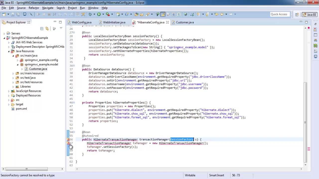 Spring 4 MVC Hibernate Integration CRUD - Spring MVC Tutorial for Beginners
