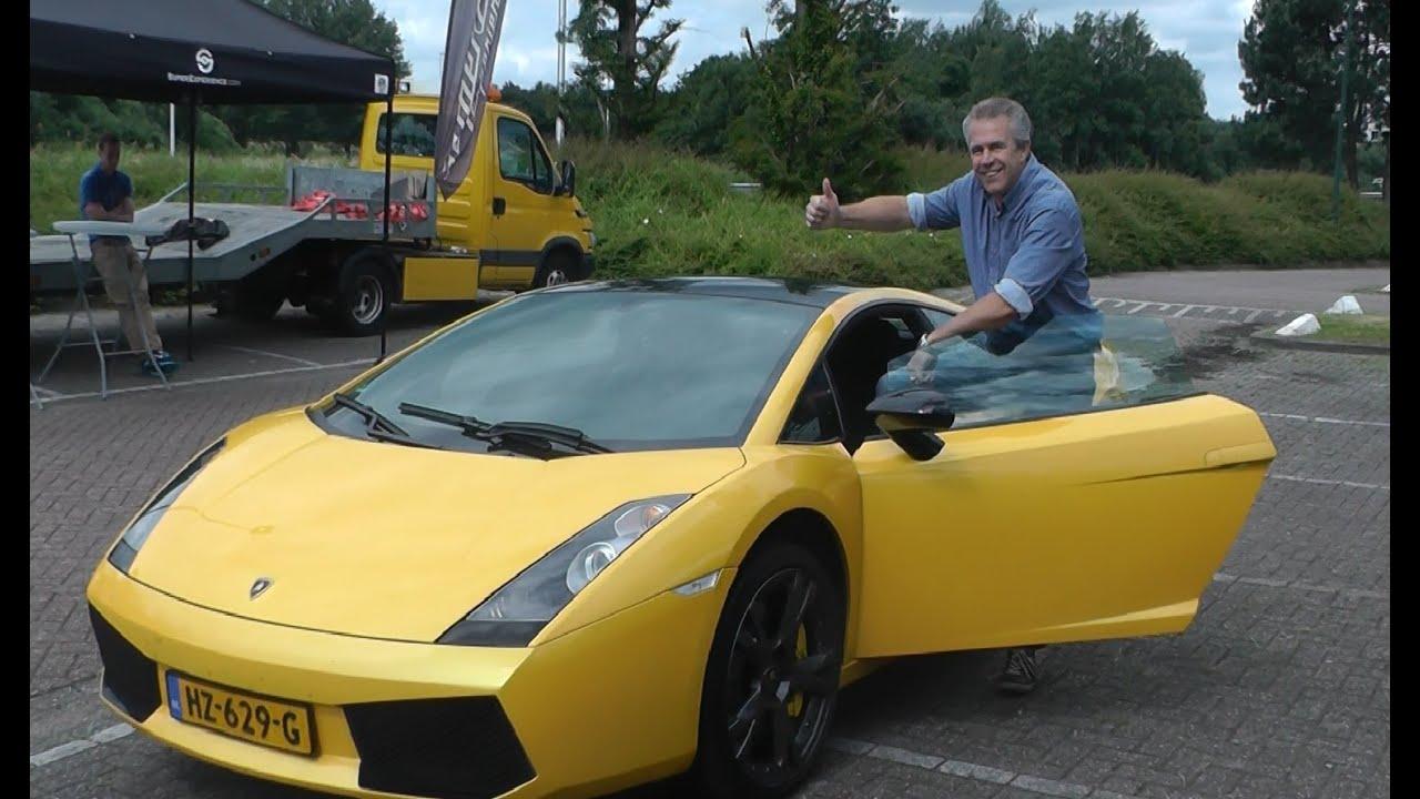 Lamborghini Gallardo Supercar Experience Zelf Rijden Vakantieveilingen