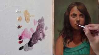 Pintar con veladuras 5. Retrato. Técnica grandes maestros. Curso de pintura.