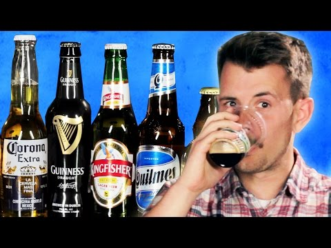 Thumbnail: People Try Popular Beer From Around The World