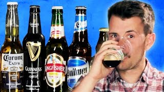 Repeat youtube video People Try Popular Beer From Around The World