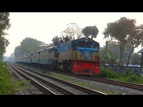 Kalni Express (কালনী আন্ত:নগর ট্রেন) // Dhaka to Sylhet Inter-city Train of Bangladesh Railway