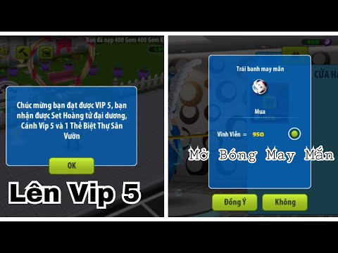 [Avatar Musik] Nạp lên Vip 5 và Mở Bóng May Mắn